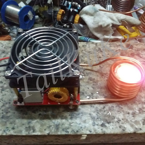 Image 2 - ZVS high frequency induction heating with over current protection input voltage 18V 50V