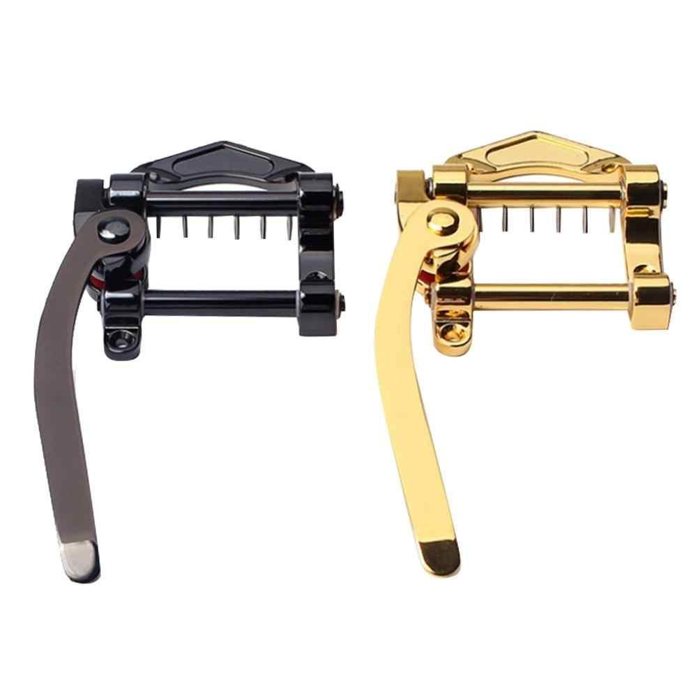 Gold Vibrato Jazz Gitarre Saitenhalter Tremolo Brücke Kleine Joystick String Board für Elektrische Gitarre Instrument Liefert