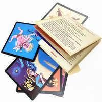 Juego de mesa de hombre lobo versión completa en inglés para fiesta en casa, juego de cartas para adultos, 24 cartas