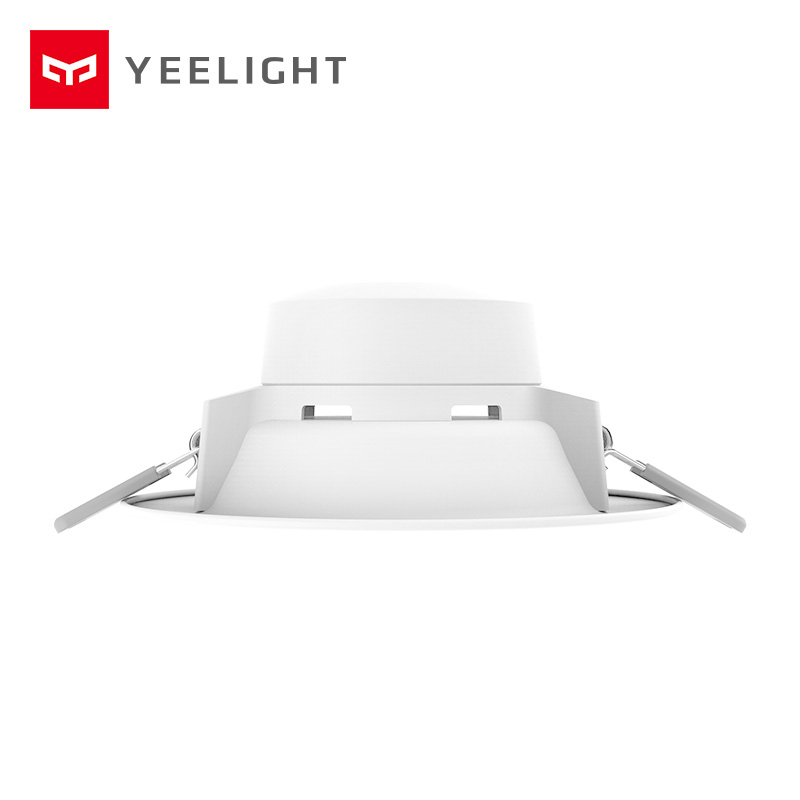 Original xiaomi mijia yeelight led downlight Warm Yellow Cold white Round LED Ceiling Recessed Light Not xiaomi smart home light-in Smart Remote Control from Consumer Electronics