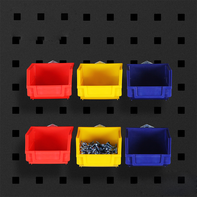Toolbox wall mounted storage box hardware screw tool organize box parts garage unit shelves components box 3 colors Tool Boxes  - AliExpress