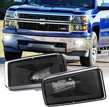 exterior door handle front left right with key hole for chevy silverado gmc 1999 2006 oe 15034985 15034986 Car Driving Led Front 5202 Bumper Fog Lights For Chevy Silverado /Tahoe Suburban  2007-2013 Avalanche GMC Sierra/Yukon Truck