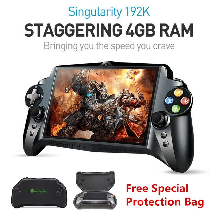 Новый S192K 7 дюймов 1920x1200 Четырехъядерный 4G/64 Гб новый геймпад Ручной игровой плеер 10000mA Android 5,1 планшетный ПК видео игровая консоль