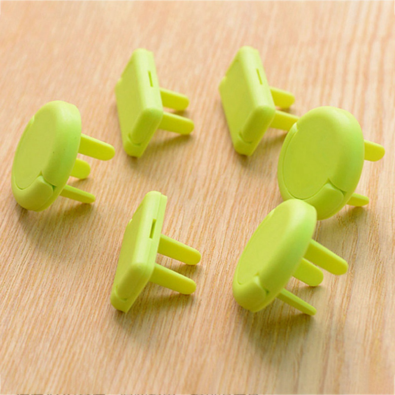 6pcs/Lot 2/3 Hole Sockets Cover Plugs Baby Electric Sockets Outlet Plug Kids Electrical Safety Protector Sockets Protection Caps