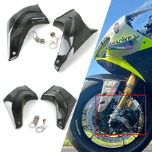 Brake-Caliper-Disc-Cooling-Air-Ducts-Pipe Versys Kawasaki Z800 Z650 Z1000 ZX10R 650-Ninja
