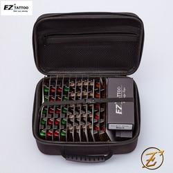 100 Uds. EZ v-select cartucho para tatuar kits de agujas RL RS M1 CM agujas de tatuaje de tamaño mixto con 2 uds suministros de Kits de tatuaje