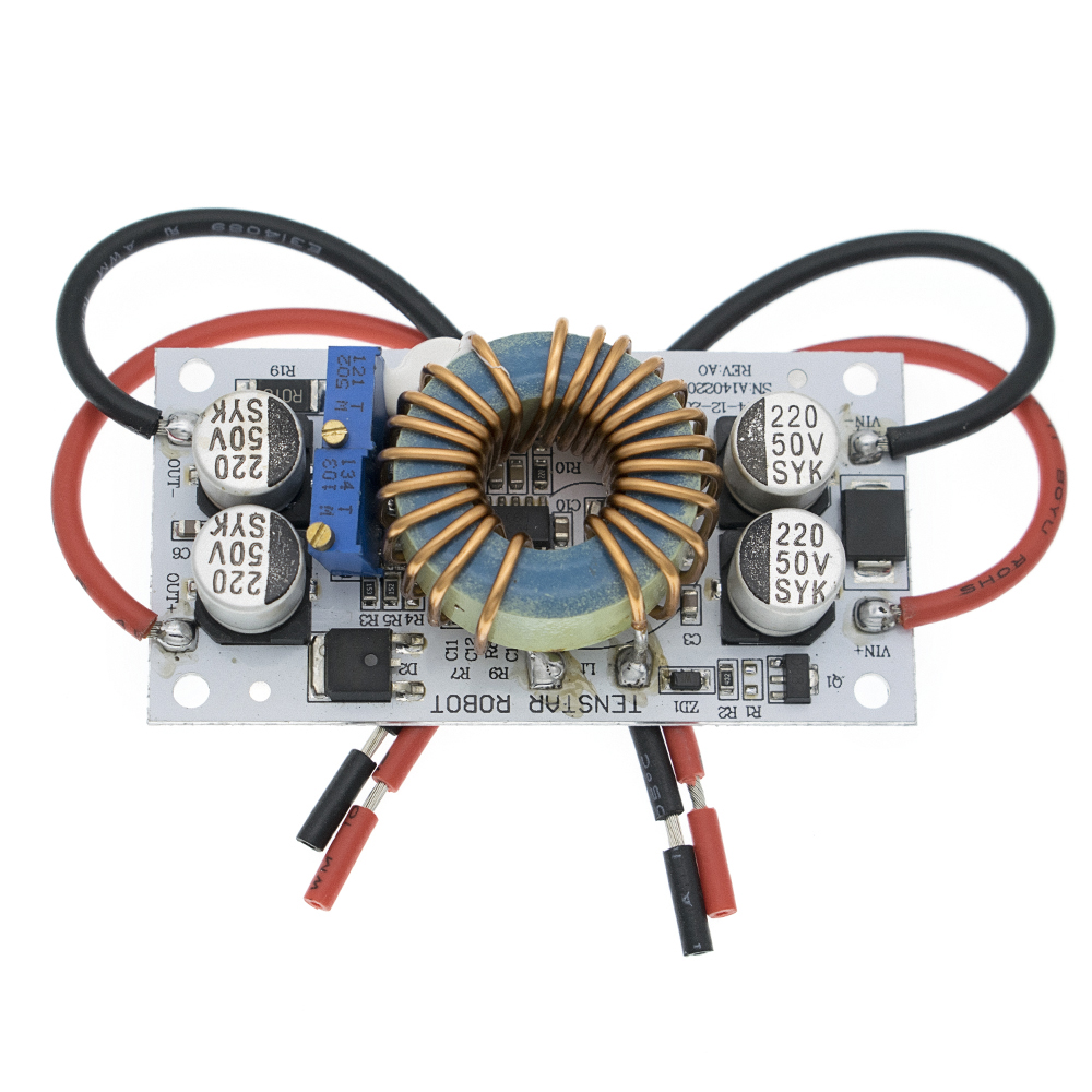 DC-DC boost converter Constant Current Mobile Power supply 10A 250W LED Driver image