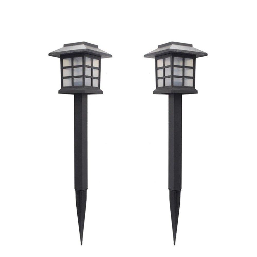 Güneş ışıkları LED lamba dış mekan güneş enerjili lamba yolu bahçe lambası peyzaj aydınlatma Patio Yard güverte yolu lambası güneş bahçe lambası
