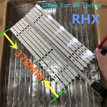 10 adet LED 2013SONY40A 3228 05 REV1.0 130927 KDL 40R483B şerit 100% yeni