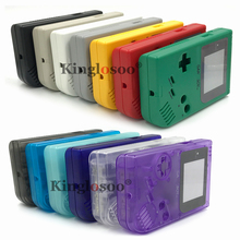 Full Housing Shell Cover Case Pack Replacement for Gameboy Classic GB GBO DMG 01 Console w/ Rubber Pads Button