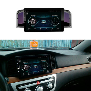 Car navigation 9 inch Android 8.1 quad core support mirror link DAB 2DIN car radio multimedia video player for Lifan 620/Solano image