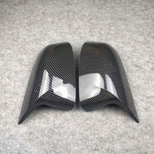 ONE PAIR Rearview mirror cover For bmw X3 F25 G01 X4 F26 G02 X5 E70 F15 G05 X6 E71 F16 G06 ABS Mirror caps Replace the original