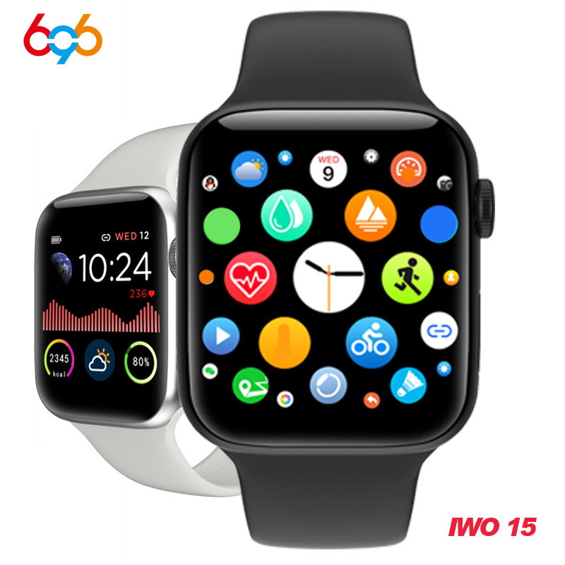 W68 Smart Watch Band Men Series 5 Full Touch IP67 Waterproof Fitness Tracker Heart Rate Monitor Smartwatch Women VS W58 Iwo 12