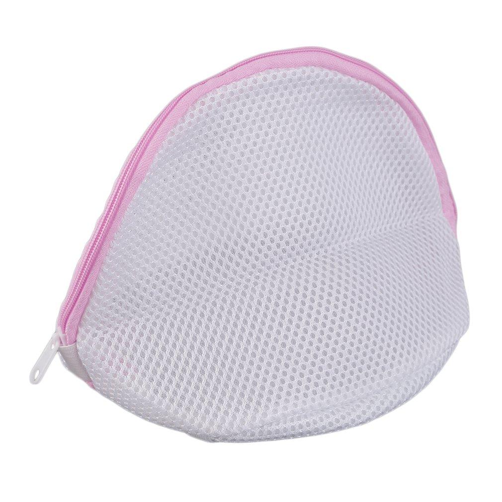 1Pc Superior Quality Laundry Mesh Net Bag Lingerie Bra Underwear Delicate Clothes Socks Washing Zippered Stylish Fashion