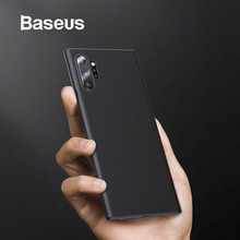 Baseus 0.4mm Ultra Thin Case for Samsung Galaxy Note 10 Plus Coque Soft Slim PP Cover Back Pro