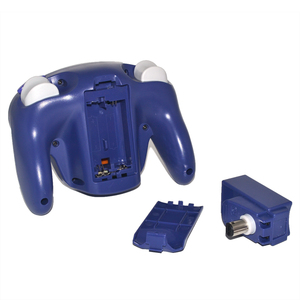 Image 3 - 2.4GHz bezprzewodowy Gamepad Bluetooth dla Gamecube dla kontrolera NGC Joypad Joystick dla Nintendo na komputer MAC