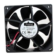 Original 100% trabalhando qfr0812sh 8s30 495659-001 dc 12v 0.50a 80x80x25mm ventilador de refrigeração do servidor