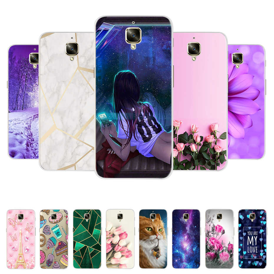 For Oneplus 3t Case Oneplus 3 Back Cover Ultra Thin Silicone Cartoon For Oneplus 3t Cover One Plus 3 Three Phone Case Soft Coque Phone Case Covers Aliexpress