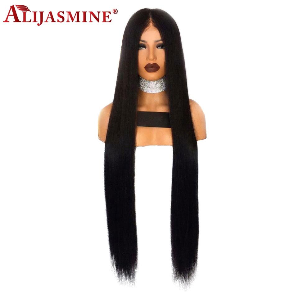 18 cal 30 cal długa koronka przodu peruki z ludzkich włosów prosto wstępnie oskubane z dzieckiem włosy peruwiański Remy 130% gęstości 13x4 peruka dla kobiet w Peruki z ludzkich włosów na siatce od Przedłużanie włosów i peruki na AliExpress - 11.11_Double 11Singles' Day 1