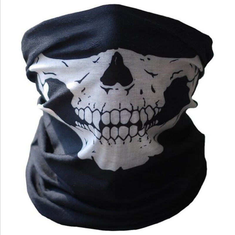 Smoke Skull of Ocean Pirate Unisex Fashion Quick-Drying Microfiber Headdress Outdoor Magic Scarf Neck Neck Scarf Hooded Scarf Super Soft Handle