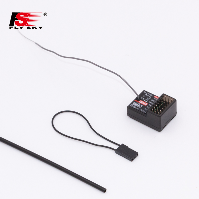 Flysky FGR4 FGR4S FGR4P 2.4G 4CH Two-way Single Antenna Receiver PPM/IBUS/PWM For Flysky FS-NB4 Remote Control RC Car image
