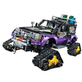 3372 Genuine Technic Mechanical Ultimate Extreme Adventure Car Set 2in1 Building Blocks Bricks 42069 B163