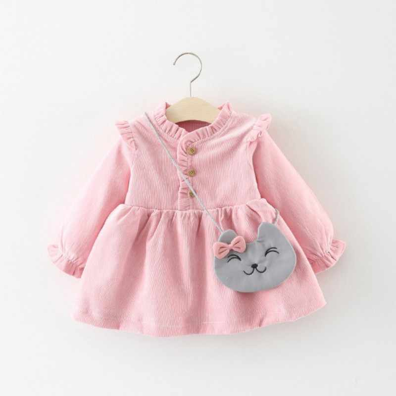 2019 New Winter Newborn Dress Infant Baby Clothes Dress For Girl Clothing Princess Party Christmas Dress for 3M-3Y