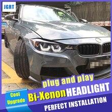Scheinwerfer Für BMW 3 serie F30 2013 2015 LED/Xenon Abblendlicht Fernlicht LED tagfahrlicht sequential blinker MD 3