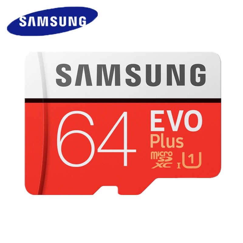 SAMSUNG Micro SD Karte 32GB Class 10 Tf-karte 64GB 128 GB Speicher Karte 256GB UHS-I U3 SDXC U1 SDHC-Speicher Für Mobile EVO Plus