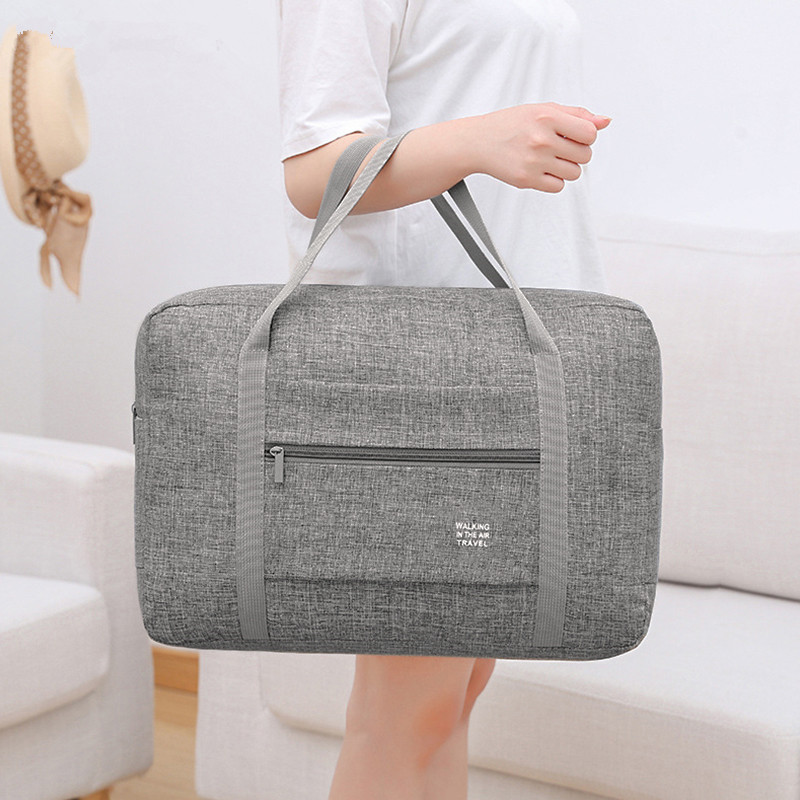Women Men Travel Bag Carry-on Duffle Road Bags Large Capacity Clothes Tote Luggage Handbag Traveling Packing Organizer Supplies