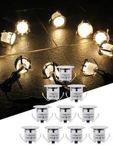 Bulb-Lamp Deck-Light Stair-Underground Stainless-Steel Waterproof Recessed DC12V IP67
