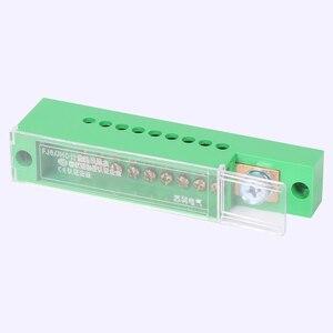 Image 3 - Boîte de jonction unipolaire pour armoire de dosage, bornier de fils, plastique ignifuge avec couvercle, accessoires électriques