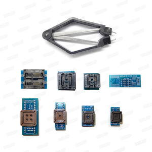 Image 4 - XGECU Original New TL866II PLUS Universal  Programmer+14 Adapters+TSOP32 TSOP48 Adapter +Test Clip TL866 Bios High Speed EPROM