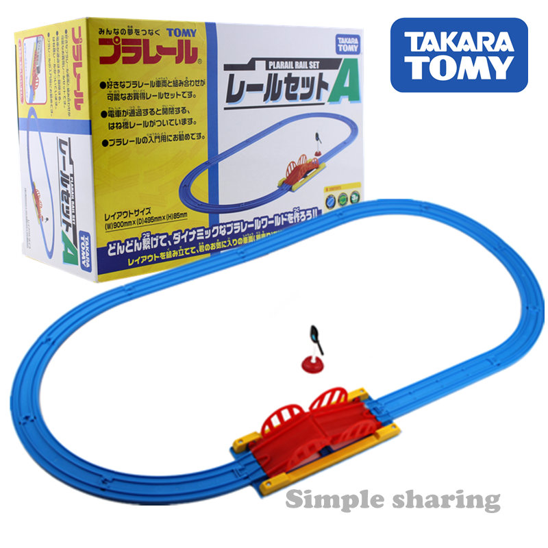 Takara Tomy Tomica Plarail Track Accessory A Plastic Rail Mould Diecast Miniature Train Part Model Kit Hot Pop Baby Bauble