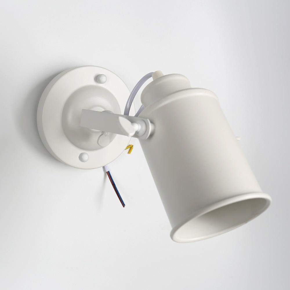 Retro ajustável wall-mounted iluminação de cabeceira do