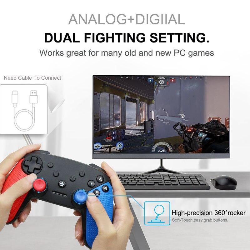 Image 2 - Senza Fili di Bluetooth Remote Controller Gamepad Per Nintend  Switch di Console Per Android Smarthone Per PC Controle Joystick-in  Gamepad da Elettronica di consumo su