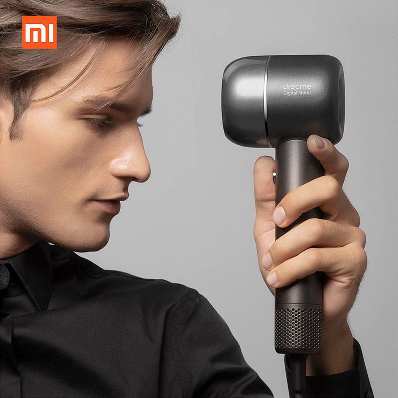 Image 4 - New XIAOMI Dreame Hair Dryer 1400W  110,000 rpm Intelligent Temperature Control Hair Dryer Negative Ion Men And Women Home-in Hair Dryers from Home Appliances