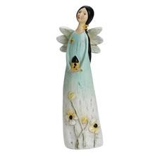 Resin Girl Angel Statue Figure Decoration For Garden,Home,Store Decor