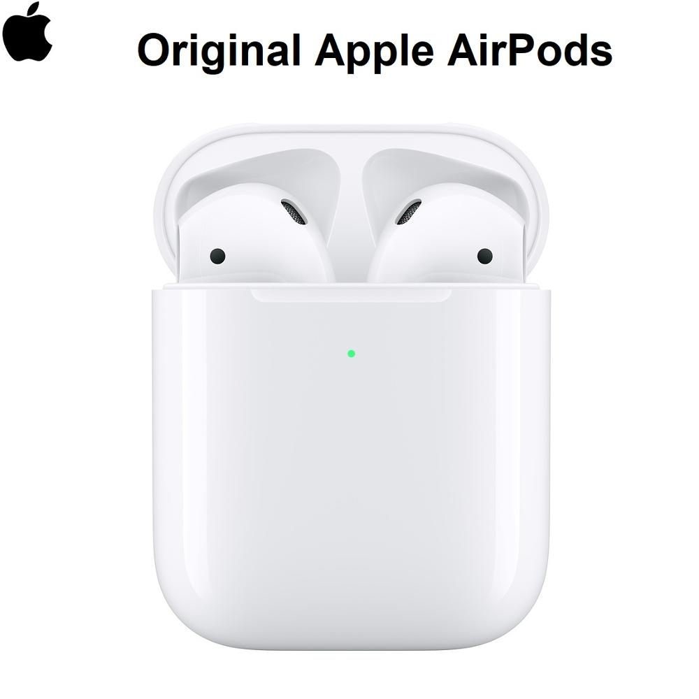 Nouveau casque sans fil d'origine Apple AirPods 1st/2nd Gen. Bluetooth pour Smartphone IOS iPhone iPad MacBook Android