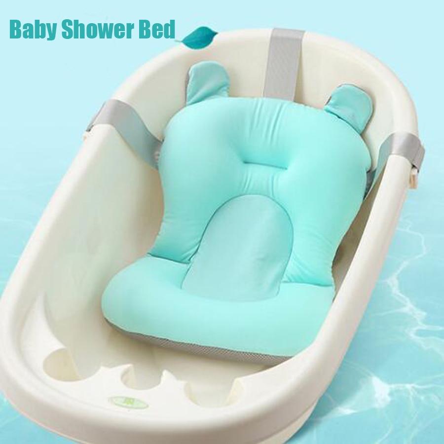 Infan Bath Pad Non-Slip Bathtub Mat for Newborn Shower