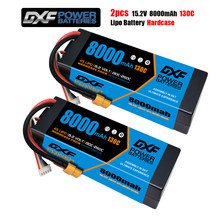 DXF – 2 pièces Lipo 2S 3S 4s 7.6V 11.4V 15.2v 8000mah 130C 260C pour RC1/8 1/10 voiture XxMax Arrma Buggy TruggyTruck Drone bateau