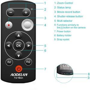 Image 4 - Aodelan ML L7A bluetoothカメラのリモコンシャッターニコンZ50、P1000、B600、A1000、P950. 置き換えML L7