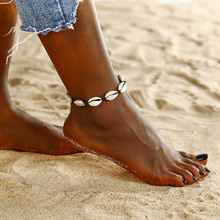 Fashion Anklets for Women Personality Exaggeration Bohemia Beach Anklet Metal Starfish Shell Anklet Lover Gift 2020 New 2020 new women s fashion cuban link anklets jewelry alloy shell bohemia beach gold anklet wholesale best friend gifts