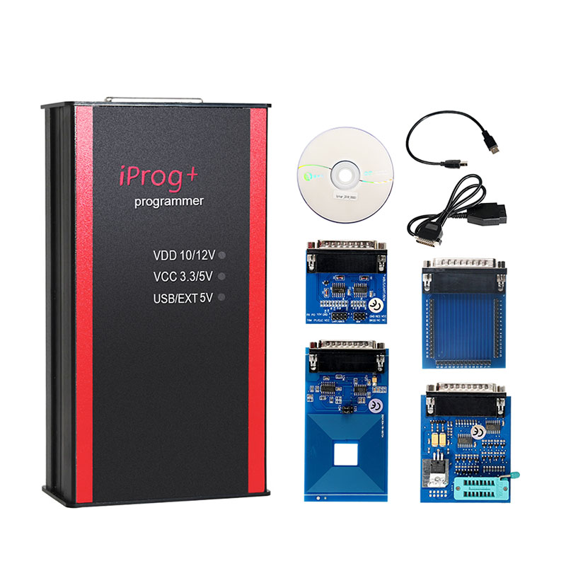 Image 2 - Best Price iPROG+ Prog Programmer Updated V77 iProg Supports IMMO/Mileage Correction/Airbag Reset Replace Carprog/Digiprog/Tango-in Air Bag Scan Tools & Simulators from Automobiles & Motorcycles