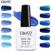 Elite99 Blau Serie Nagel Kunst Dekorationen Nagel Gel Polnisch LED UV Lampe Gel Lack 10ml Gel Lack Long Lasting pick 1 Stück