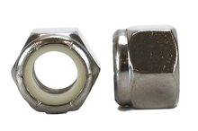 18-8 USS 1/2-13 Stainless Nylon Insert Lock Nuts Qty 50 Pieces (Nylock) (1/2-13 Nylock)