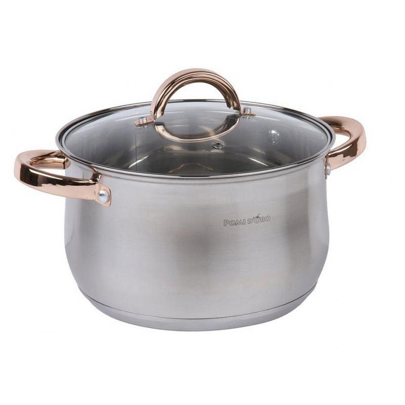 Pan POMI DORO, Levita, 4 liter, gold handle стоимость