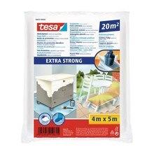 TESA® Plástico De Cubrición Extra Fuerte Transparente 56652 – Plástico De 20m2
