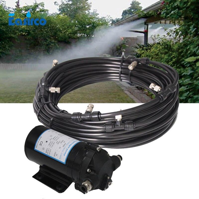 Vernevelaars Sprinkler mist maker met stille pomp outdoor gebruik (water bron van emmer)-in Bewateringskit van Huis & Tuin op  Groep 1