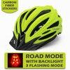 Victgoal capacetes de bicicleta led das mulheres dos homens esportes polarizados óculos de sol luz traseira mtb mountain road ciclismo capacetes 20